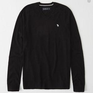 Abercrombie Cashmere V-Neck men's sweater L